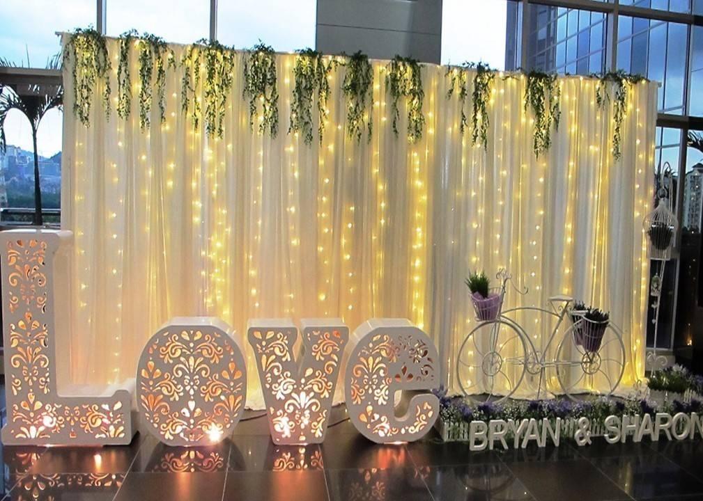 Оформление зала для свадьбы: лучшие идеи - hot wedding