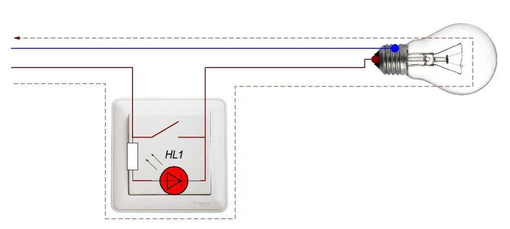 Как правильно подключить проходной выключатель. схема управление светом с 2-х и 3-х мест.
