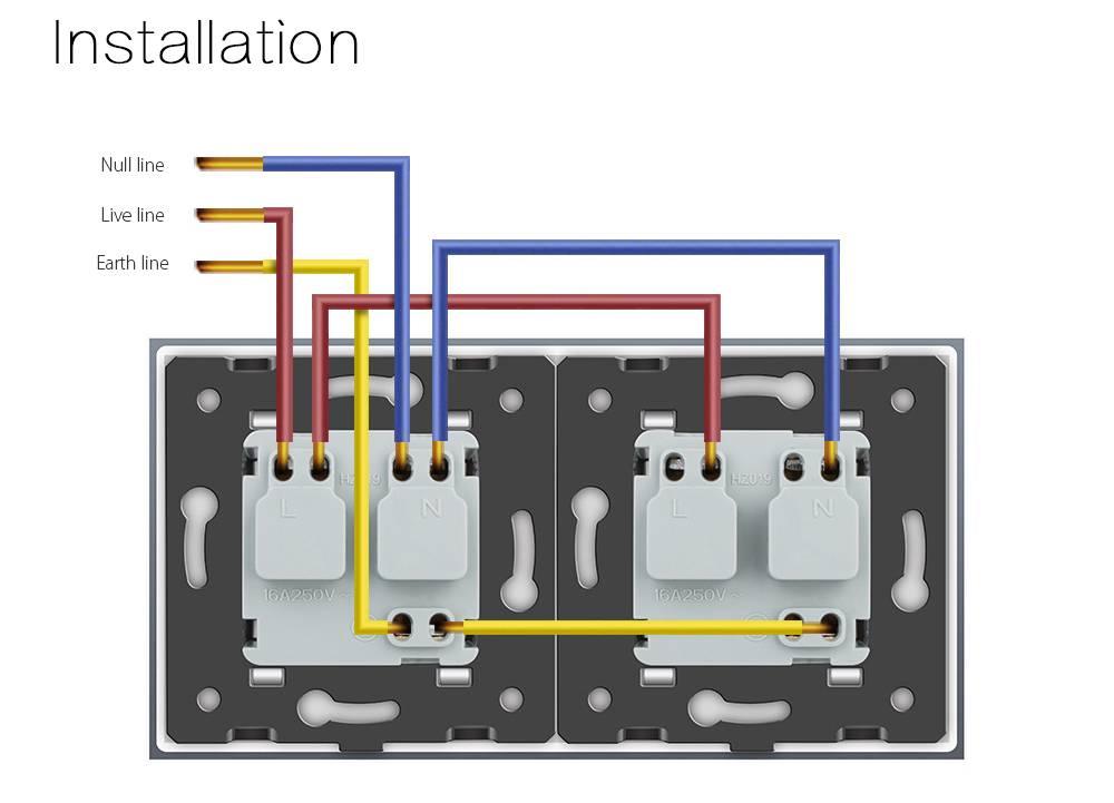 Как подключить розетку с заземлением: установка +подключение