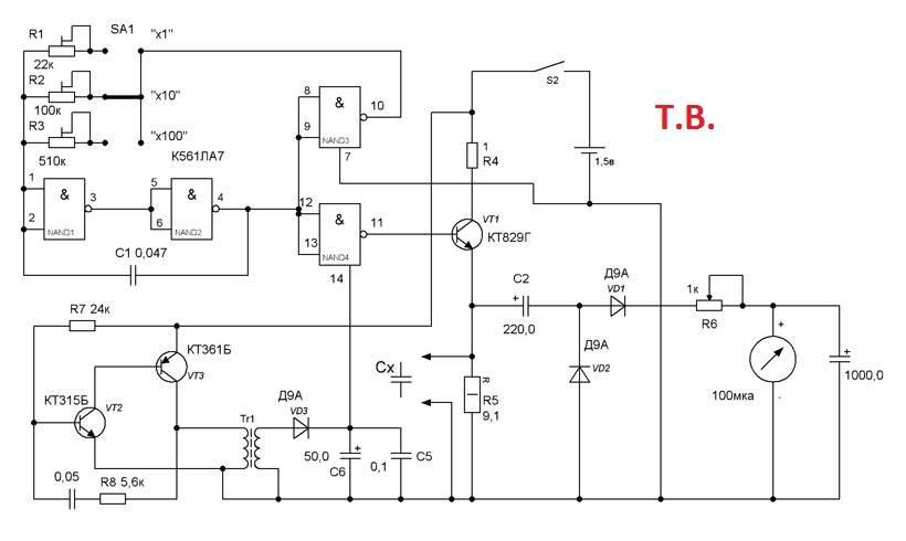 Как мультиметром проверить конденсатор на микрофарады? - электрика от а до я