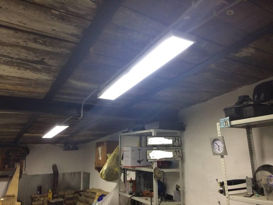 Как выбрать светодиодный прожектор для гаража