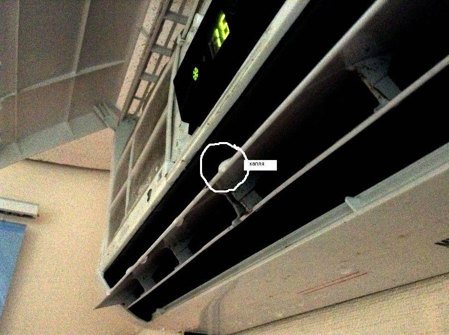 Статьи. почему течет вода через внутренний блок кондиционера в квартиру?