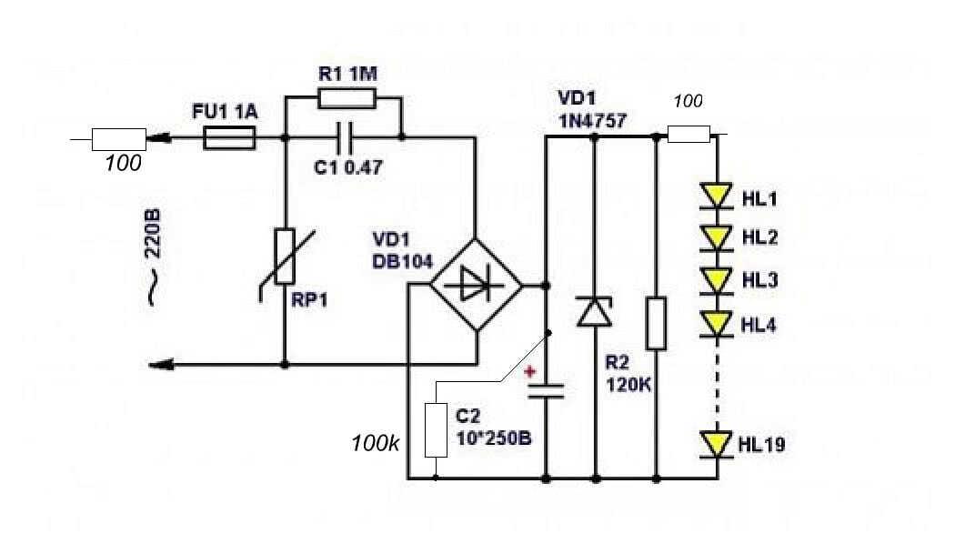 Ремонт светодиодного прожектора: схемы, описание конструкции,возможные неисправности, восстанавливаем работоспособность своими руками