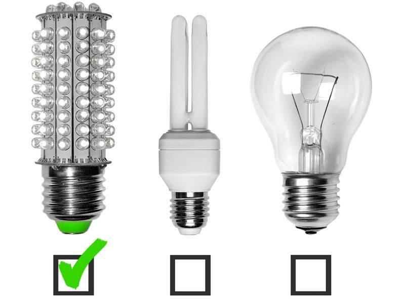 7 ошибок при замене ламп накаливания на светодиодные.