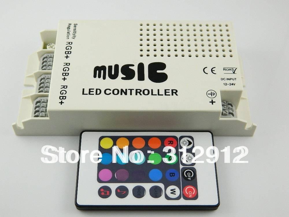 Цветомузыка из светодиодной ленты - музыкальный rgb контроллер, подключение своими руками.