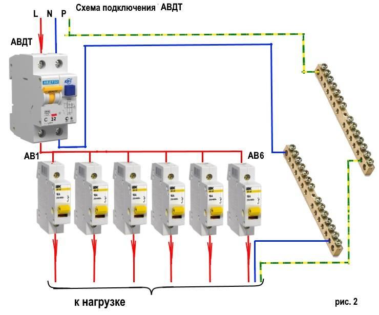 Схема подключения узо без заземления: инструкция
