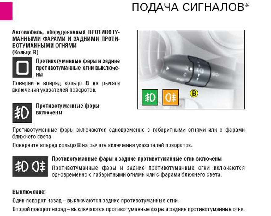 Значки на панели приборов: разъяснение обозначений