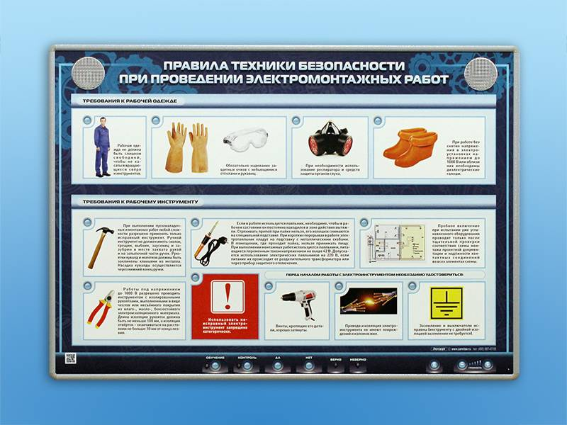 Инструмент электромонтажника перечень