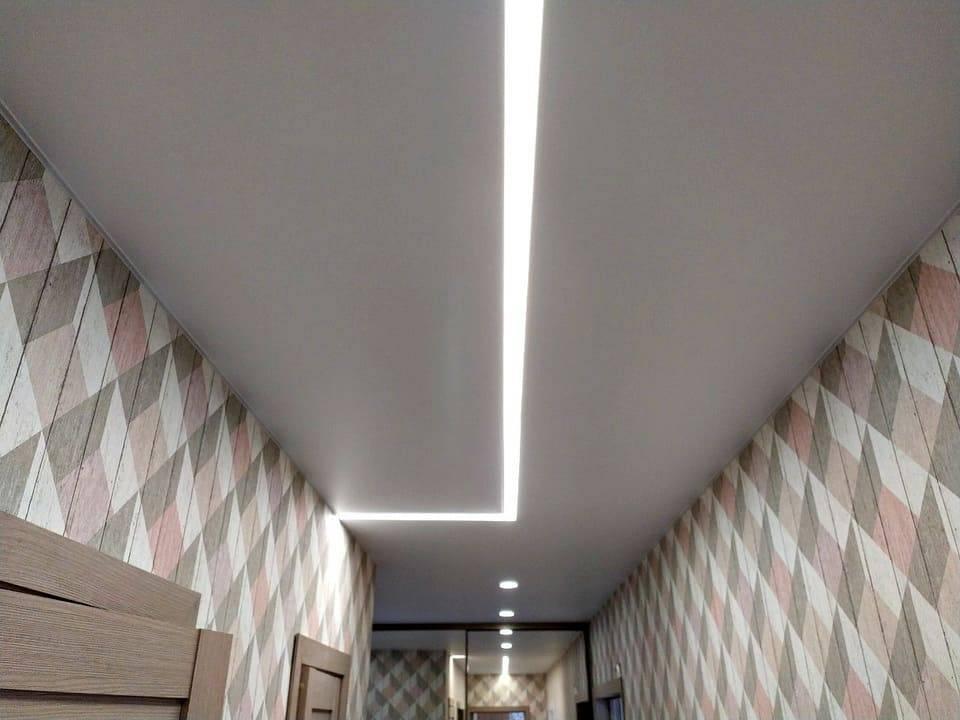 Светодиодная лента под натяжной потолок