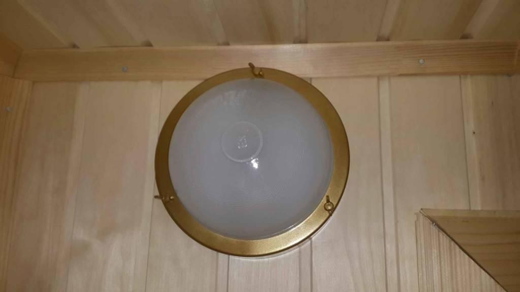 Светильник в парилку