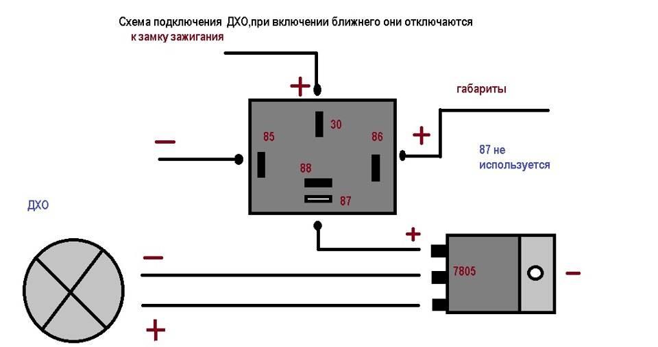 Инструкция по установке дневных ходовых огней (дхо) на авто