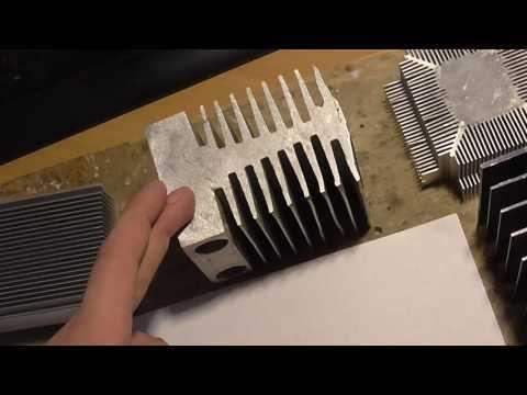 Радиатор для светодиодов: назначение, виды, делаем своими руками