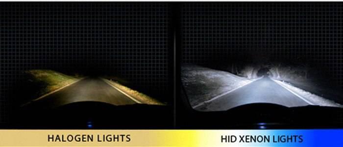 Тест светодиодных фар (led) против биксенона (hid): есть ли смысл доплачивать?