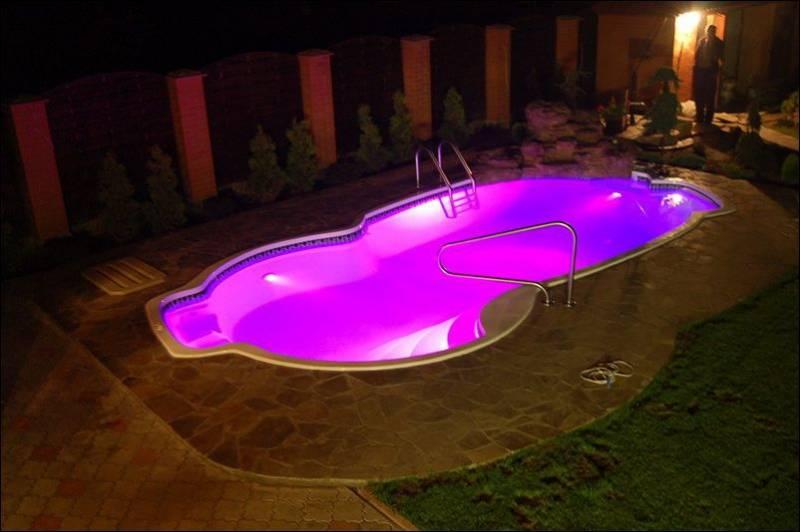 Как сделать освещение бассейна своими руками? пошаговая инструкция и полезные советы