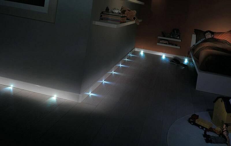 Подсветка пола в коридоре: все способы и варианты   | 1posvetu.ru