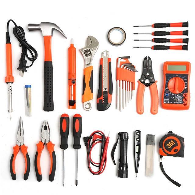 Инструмент электрика, какой набор инструмента должен быть у электрика