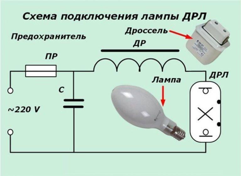 Схемы подключения днат с описанием