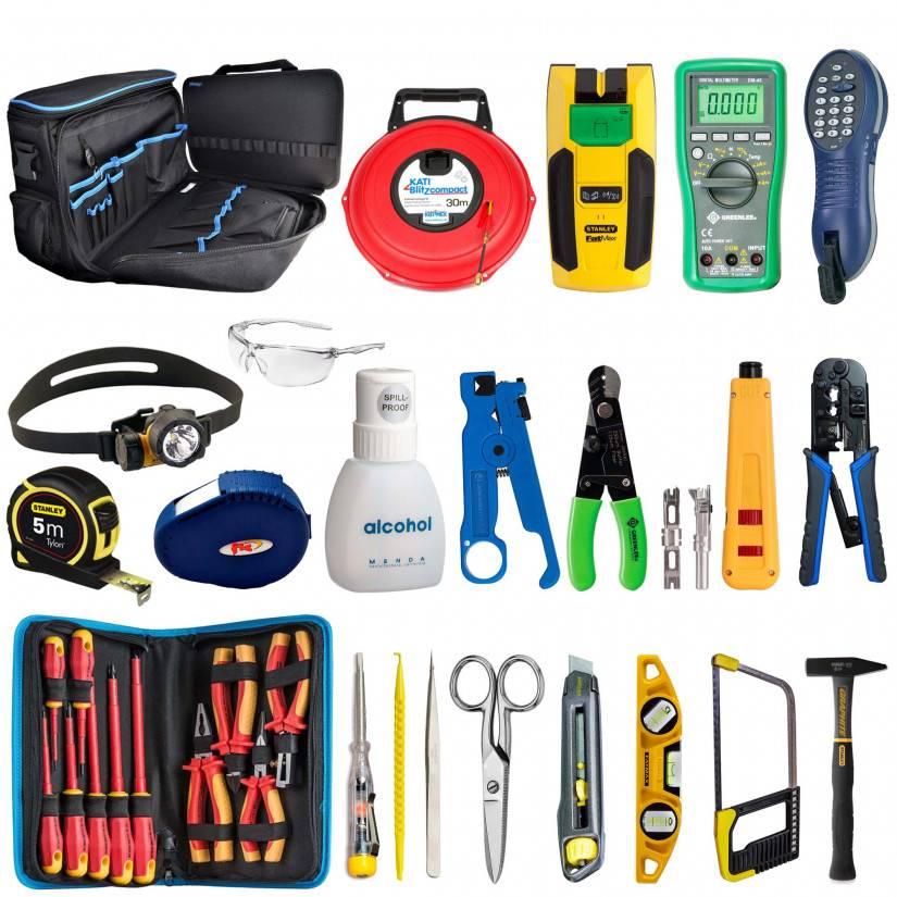 Какие инструменты нужны для выполнения электромонтажных работ » сайт для электриков - советы, примеры, схемы