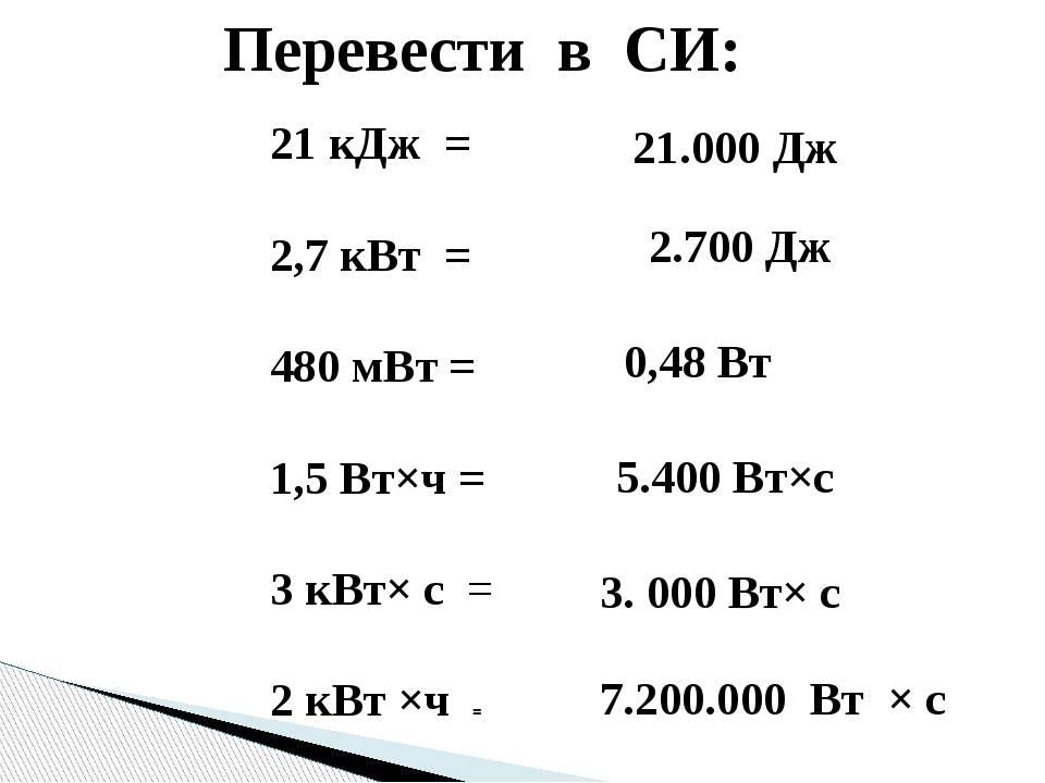 Калькулятор преобразования киловатт в лошадиные силы (лс)