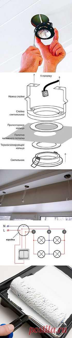 Как установить светильник армстронг