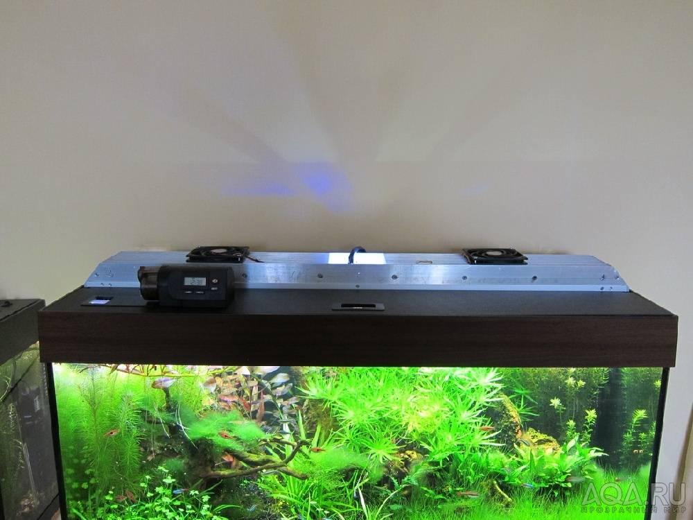 Светодиодная подсветка для аквариума своими руками