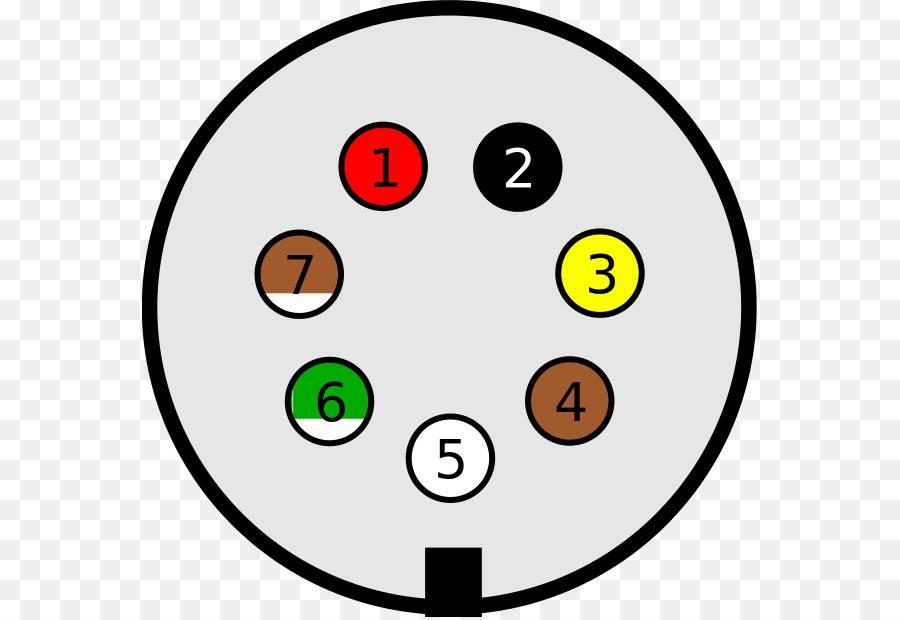 Схема подключения розетки прицепа легкового