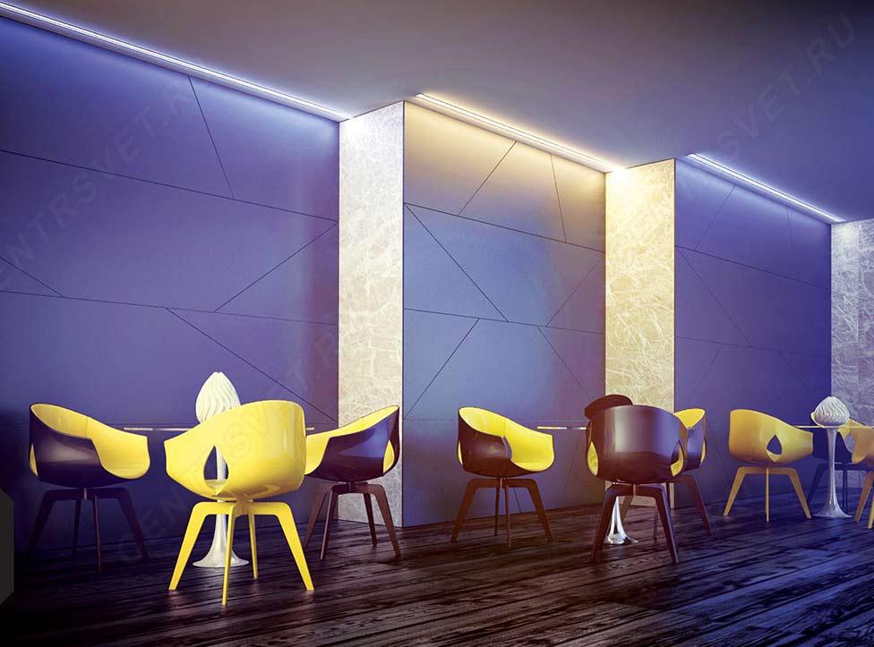 Светильники светодиодные для внутреннего освещения: виды, монтаж