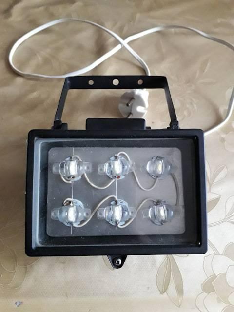 Блок питания для светодиодного прожектора своими руками