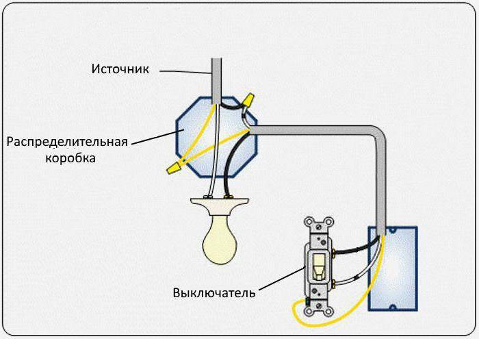 Как подключить двухклавишный выключатель: инструкция схема подключения