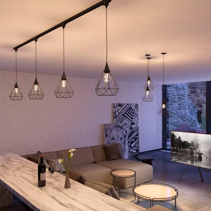 Трековые светильники: новомодное решение освещения жилых и нежилых помещений