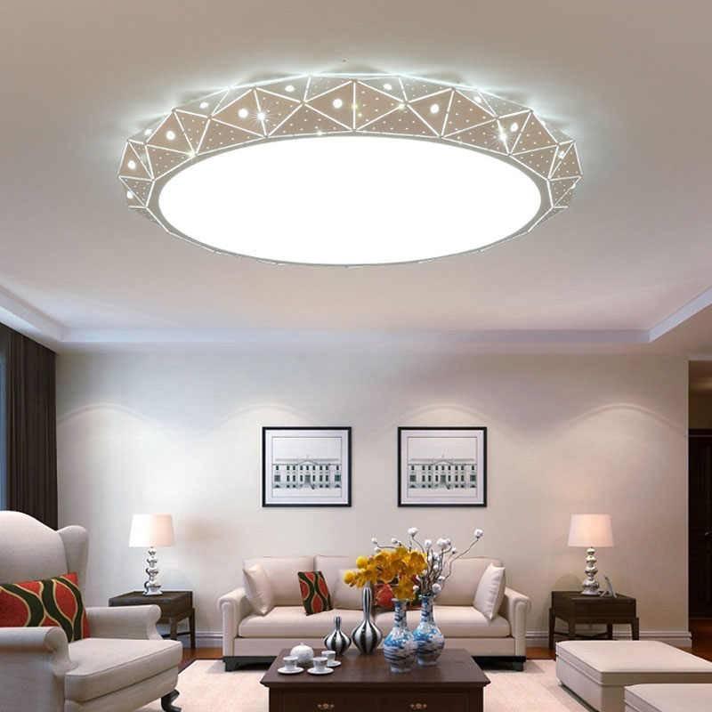 Как выбрать потолочные люстры для низких потолков