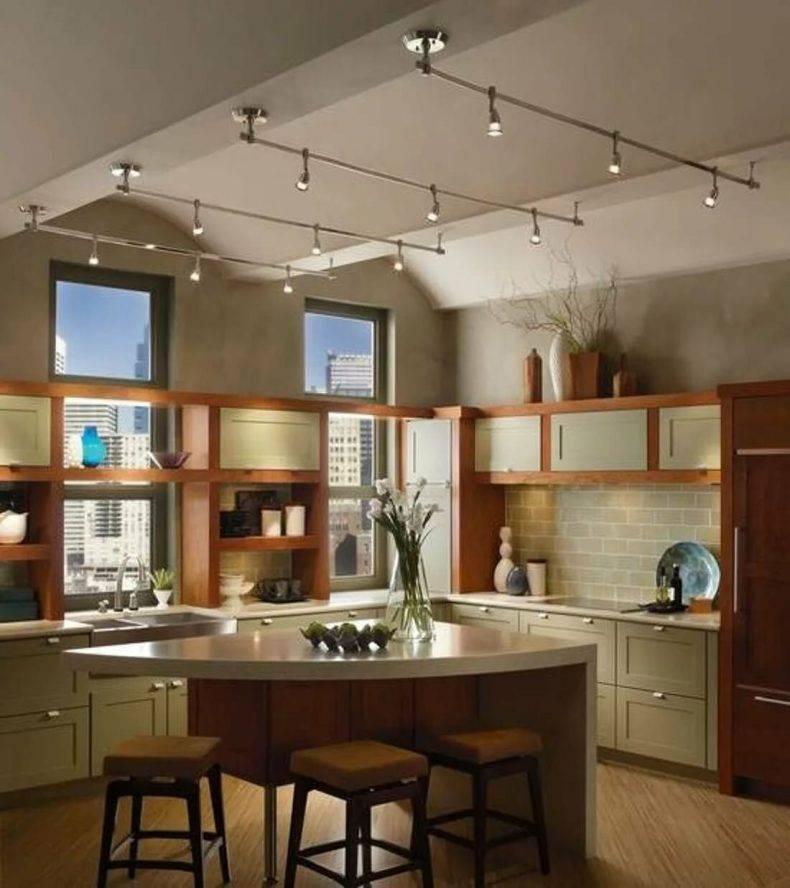 Освещение на кухне: 100 фото-идей, варианты, советы по выбору