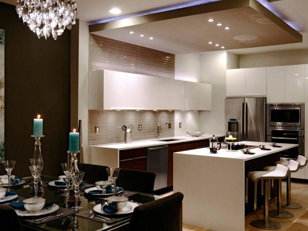 Кухня, совмещенная с гостиной: 100 лучших интерьеров, фото дизайна и советы