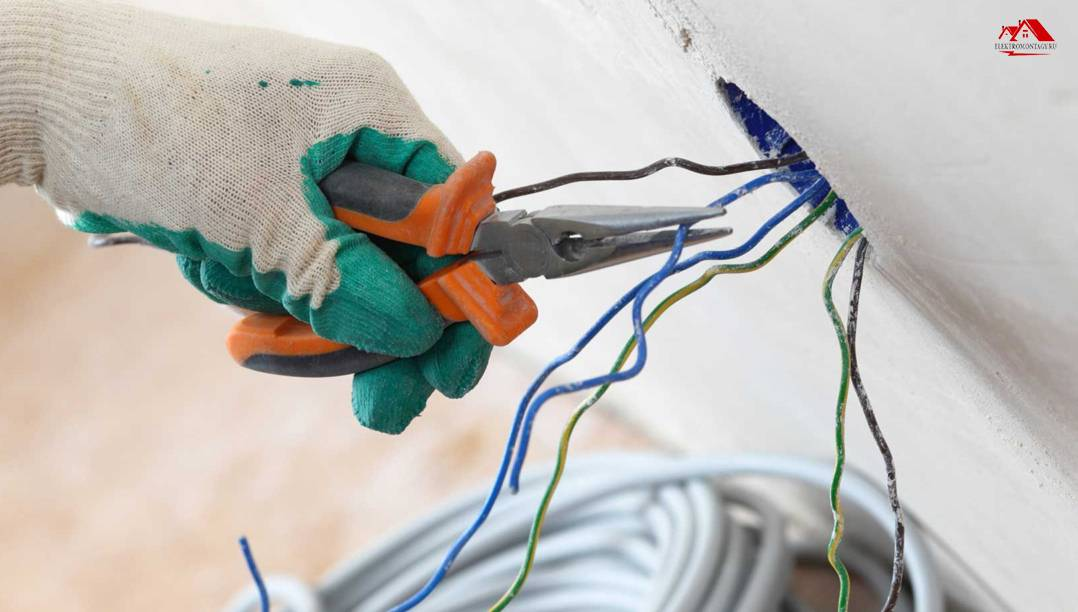 Этапы монтажа электропроводки в квартире