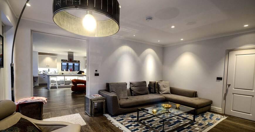 Как правильно организовать освещение комнат в квартире или частном доме
