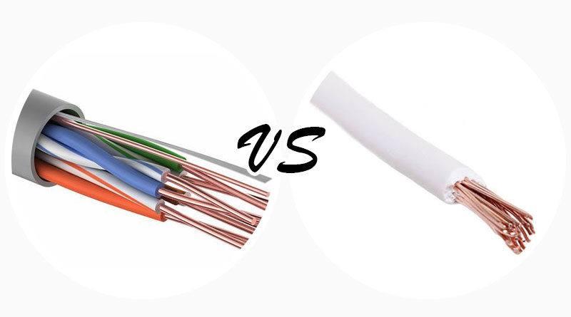 Основные отличия провода от кабеля и шнура – определение