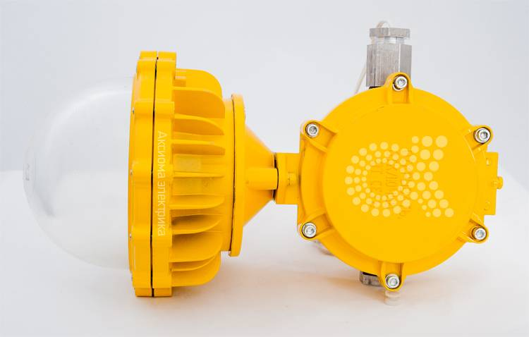 Взрывозащищенные светодиодные светильники: характеристики, типы, маркировка