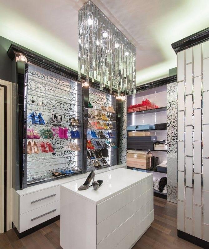 Общие требования и рекомендации к освещению гардеробных комнат