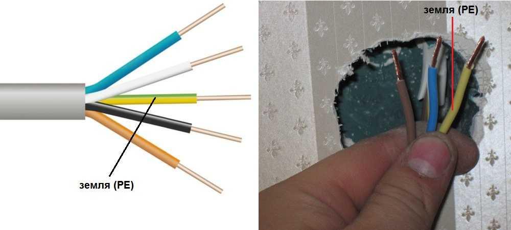 Какого цвета провода фаза ноль земля - маркировка 220в и 380в