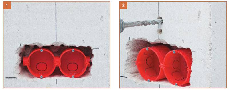 Как установить подрозетник в гипсокартон - три способа