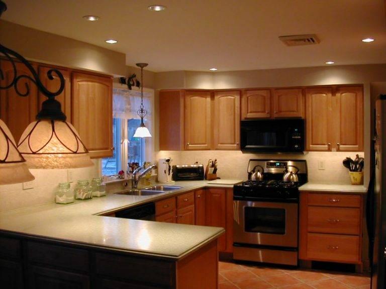 Дизайн света на кухне — как сделать правильно кухонное освещение
