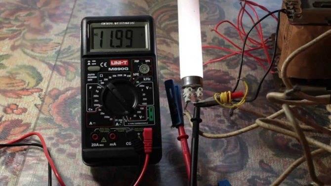 Как проверить люминесцентную лампу - всё о электрике