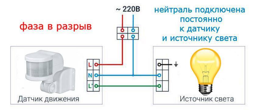 5 советов: подключение датчика движения с выключателем