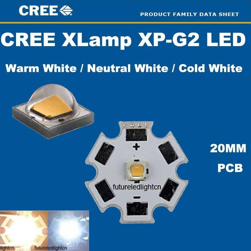 Характеристики светодиода cree xp-g