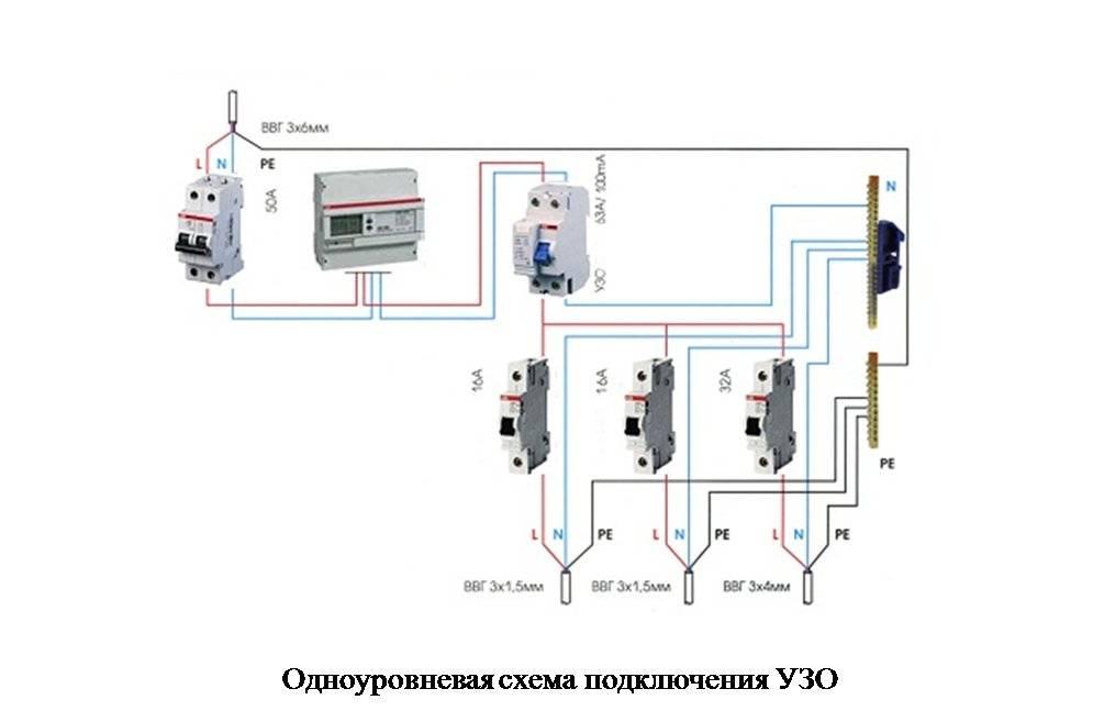 Подключение узо — правильная установка, грамотное подключение и инструкция по монтажу (80 фото) — строительный портал — strojka-gid.ru