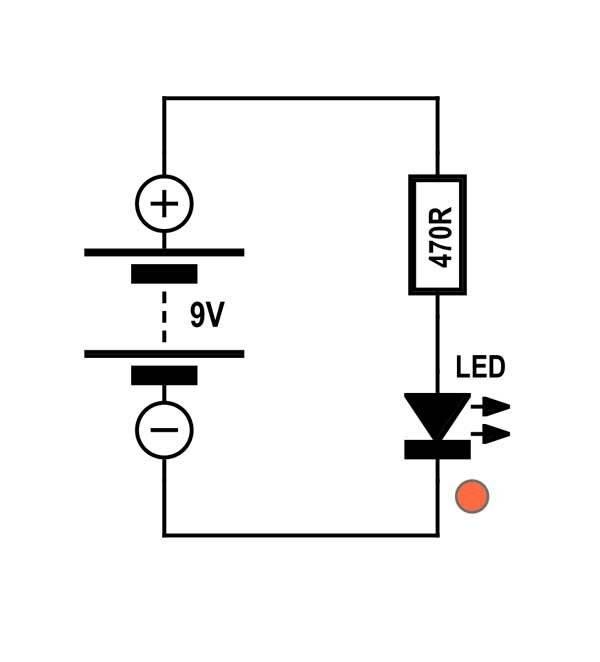 Схема светодиодной лампы на 12 вольт