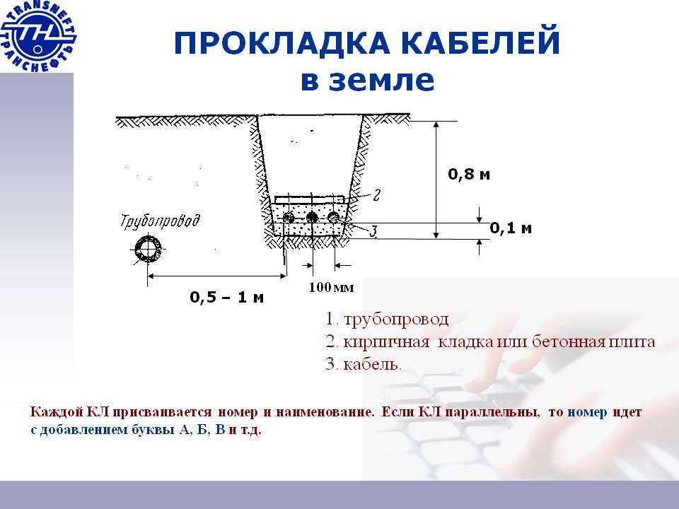 Прокладка провода сип под землей - можно или нет и почему?