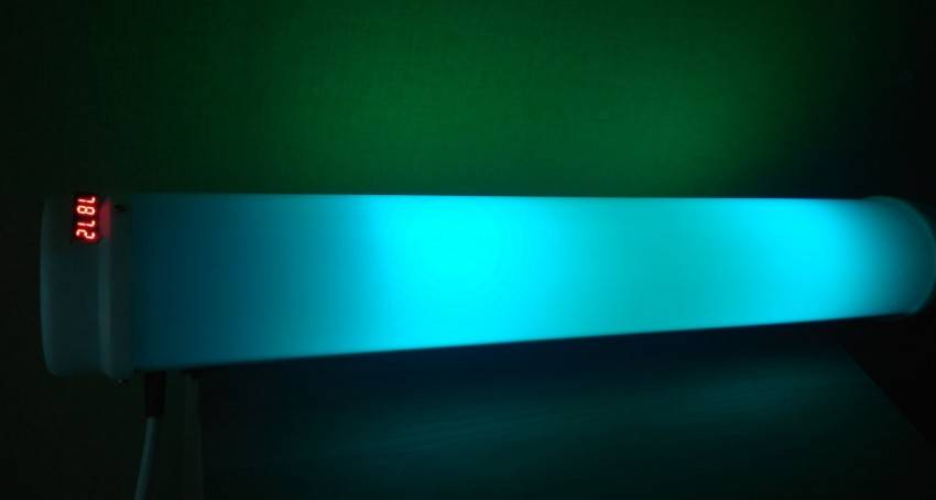 Бактерицидная лампа: полезные и негативные свойства