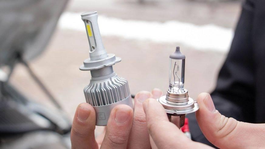 Законна ли установка светодиодных ламп в фары?