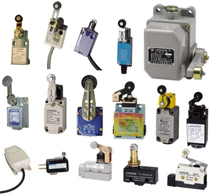 Концевые выключатели — особенности конструкций и примеры использования